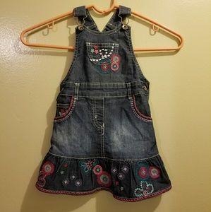 Toddler Denim Jumper Dress